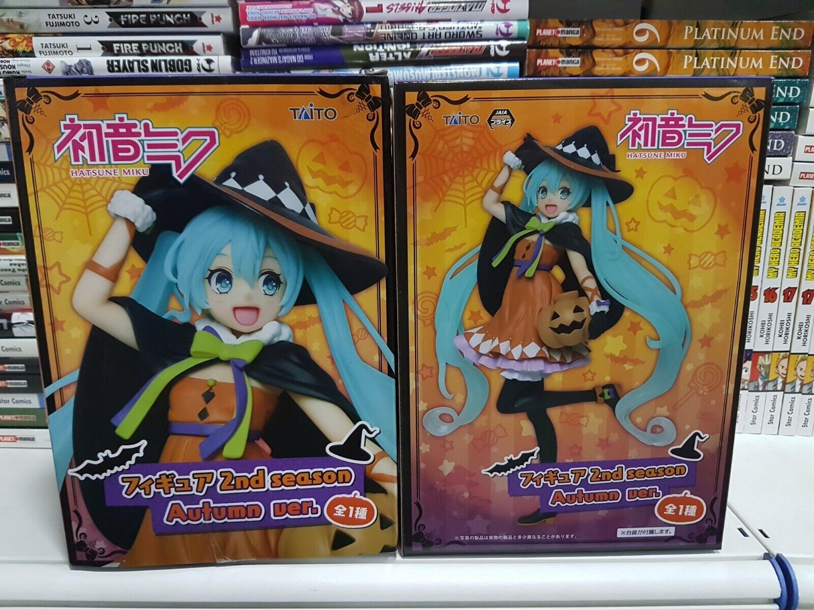 Figure Figure Figure Hatsume Miku Autunn Version Halloween Taito Nuova 76de6b