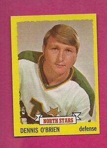 1973-74-TOPPS-177-NORTH-STARS-DENNIS-OBRIEN-ROOKIE-NRMT-MT-CARD-INV-2006