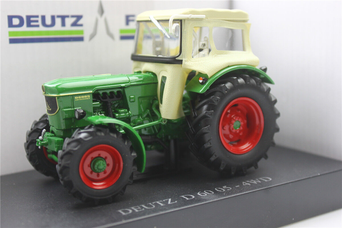 UH5253 1 32 Deutz D 60 05-4WD with cabin  Alloy car agricultural  tractor