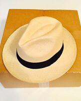New Authentic Rollable Quality Genuine Panama Hat made in Montecristi - Ecuador