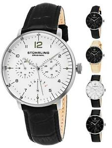 Stuhrling Vitesse Larvotto 733 Men's Quartz  Chronograph 42mm Dress Watch