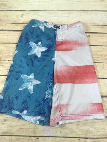 bagno Usa Costumi 16 Size Flag 18 Rosso Costumi da Bianco Blu bagno Xl Boys Cherokee Pantaloncini da zHwvqWBZz