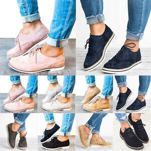 sale retailer 796d4 73456 Details zu Damen Brogues Freizeitschuhe Sneaker Schnürschuhe Halbschuhe  Turnschuhe Sommer