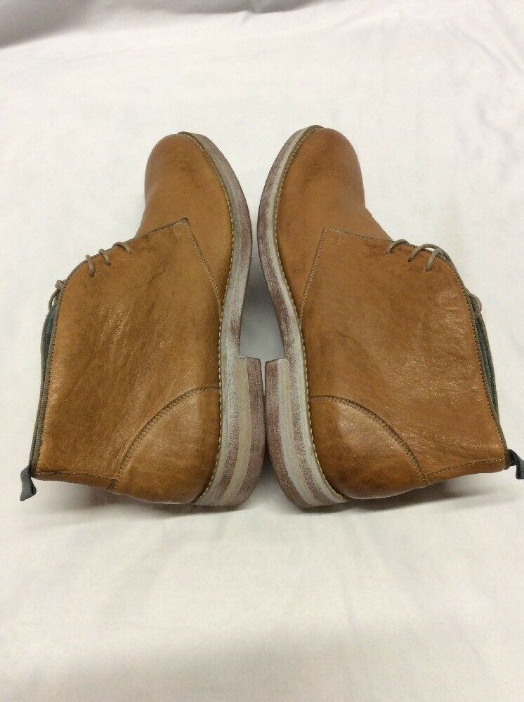 New Uomo's Johnston & Murphy watts leather Stivali, Medium    Tan, Size 9, Eur 42 JM1 95c16b