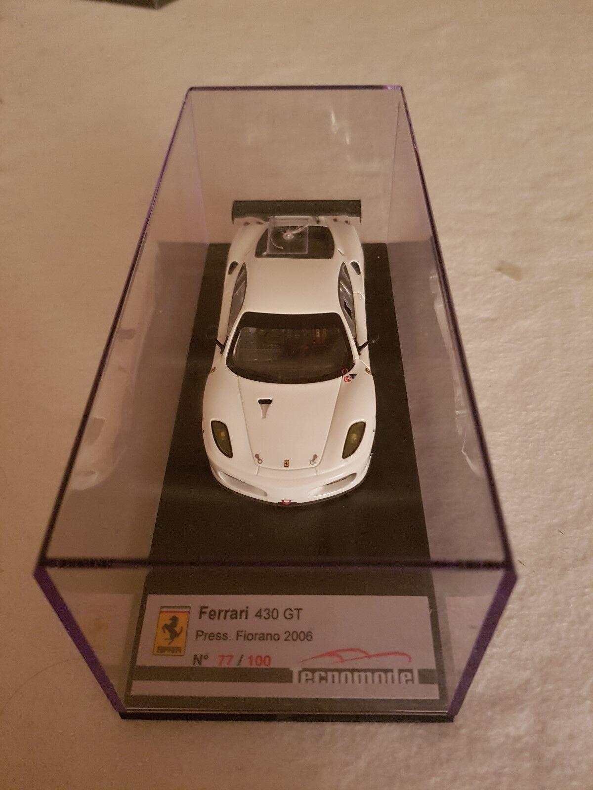 1/43 Ferrari 430 GT Presentazione Fiorano by TECNOMODEL