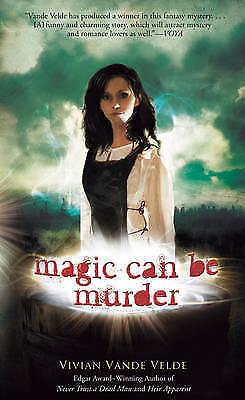 Magic Can Be Murder, Vivian Vande Velde, Very Good Book