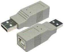 USB 2.0 Kupplung A Stecker Klinkenstecker auf B Typ Buchse Drucker Kabel adapter