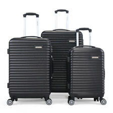 20 24 28 3 Pcs Luggage Set Travel Suitcases With Spinner Wheels Light Weight