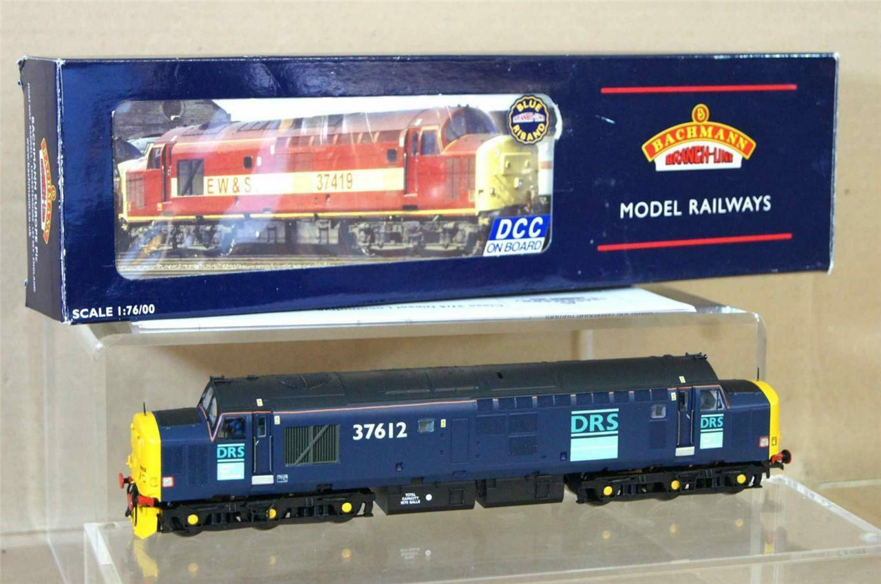 BACHMANN 32-375DC KIT BUILT DRS DIRECT RAIL SERVICES CLASS 37 6 LOCO 37612 DCC m