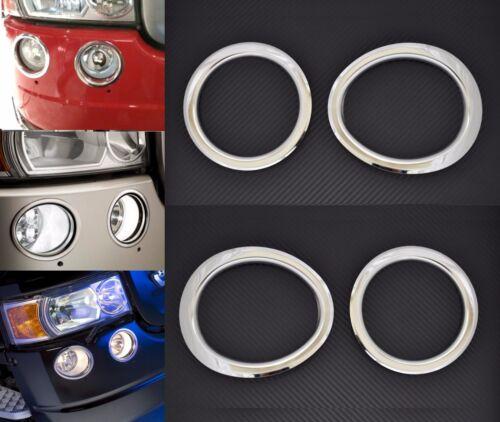 4 Anneaux Accessoire pour Scania R Camion Acier Inoxydable Avant