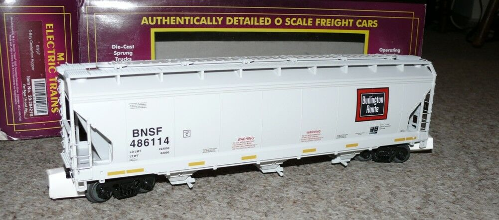 HS MTH 20-20421a Hopper CAR BNSF 477433 traccia o inutilizzati