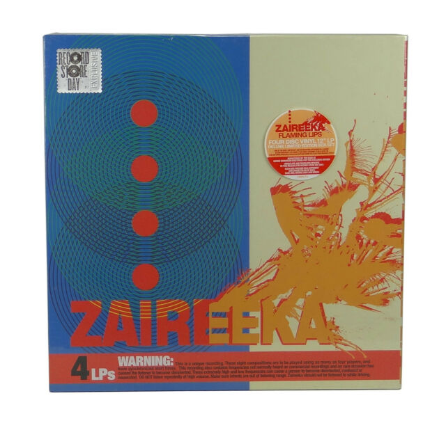 Zaireeka By The Flaming Lips Vinyl Apr 2013 4 Discs