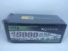 DUALSKY H.E.D. LiPo- 6S 22.2V 15000mA  333Wh - XP1500062HED - Xpower battery