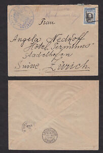 Bulgaria-1913-Turkey-Occupation-Cover-to-Switzerland