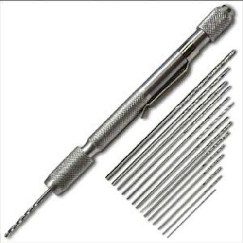 12 PIECE CRAFT DRILL SET hand drill
