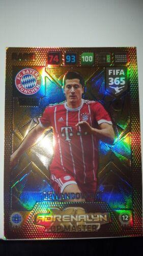 PANINI FIFA 365 2018 Limited Edition Top Master TOUTOUH Bendtner Botteghin Gera