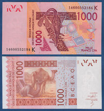 WEST AFRICAN STATES / SENEGAL 1000 Francs 2003 (20)14 UNC  P.715K