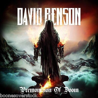 DAVID BENSON - PREMONITION OF DOOM (*NEW-CD, 2012, Retroactive)Xian Heavy Metal!