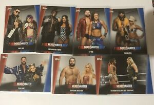 2019-TOPPS-WWE-WOMEN-039-S-DIVISION-WRESTLING-MIXED-MATCH-CHALLENGE-MMC-1-25-U-PICK