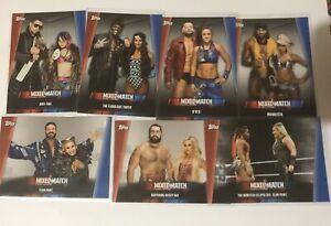2019 TOPPS WWE WOMEN'S DIVISION WRESTLING MIXED MATCH CHALLENGE MMC 1-25 U PICK