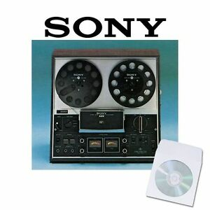 Sony-tc377-tape-recorder-user-service-manual-cd-reel-to-reel-manuals