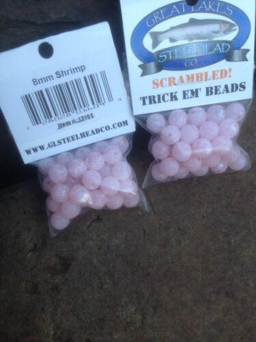 TRICK EM Fish Beads Scrambled Shrimp 8mm 1 pack