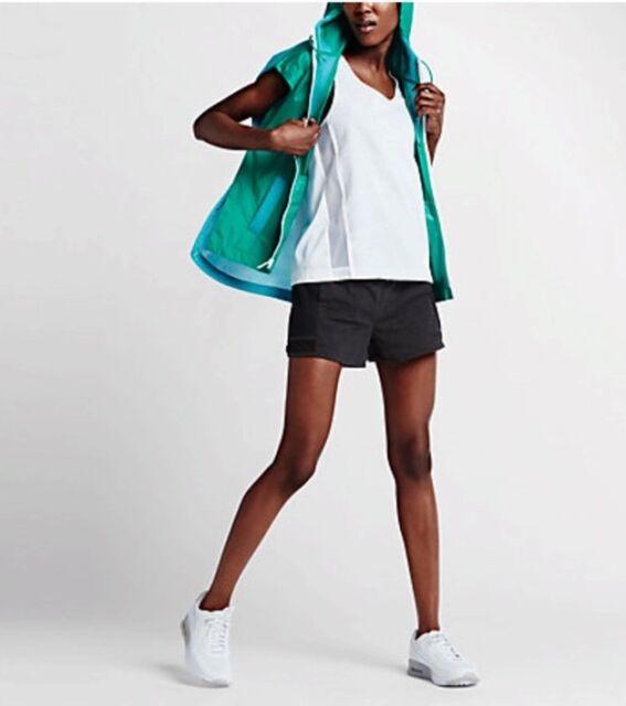 4b52d48b38e6 Nike Women Tech Hypermesh Vest Omega Blue White 802549-345 Sz XS ...