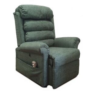 Details about Pride 670 riser recliner chair bed rise recline max weight 27 stone FREE SETUP