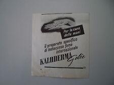 advertising Pubblicità 1951 KALODERMA GELEE