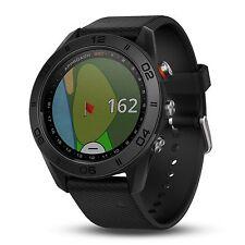 Garmin Approach S60 GPS Golf Watch Black with Black Silicone Band 010-01702-00