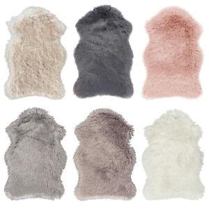 Dettagli su Kunstfell-Teppich Pelo Alto Look-Pelliccia in Bianco e Nero  Beige, Grigio, Rosa,