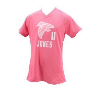 wholesale dealer fe837 13102 Details about Atlanta Falcons NFL Kids Youth Girls Julio Jones Jersey Style  Athletic Shirt New