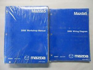 details about 2008 mazda 5 service workshop repair manual \u0026 wiring diagrams set  2008 mazda 6 wiring diagram wiring