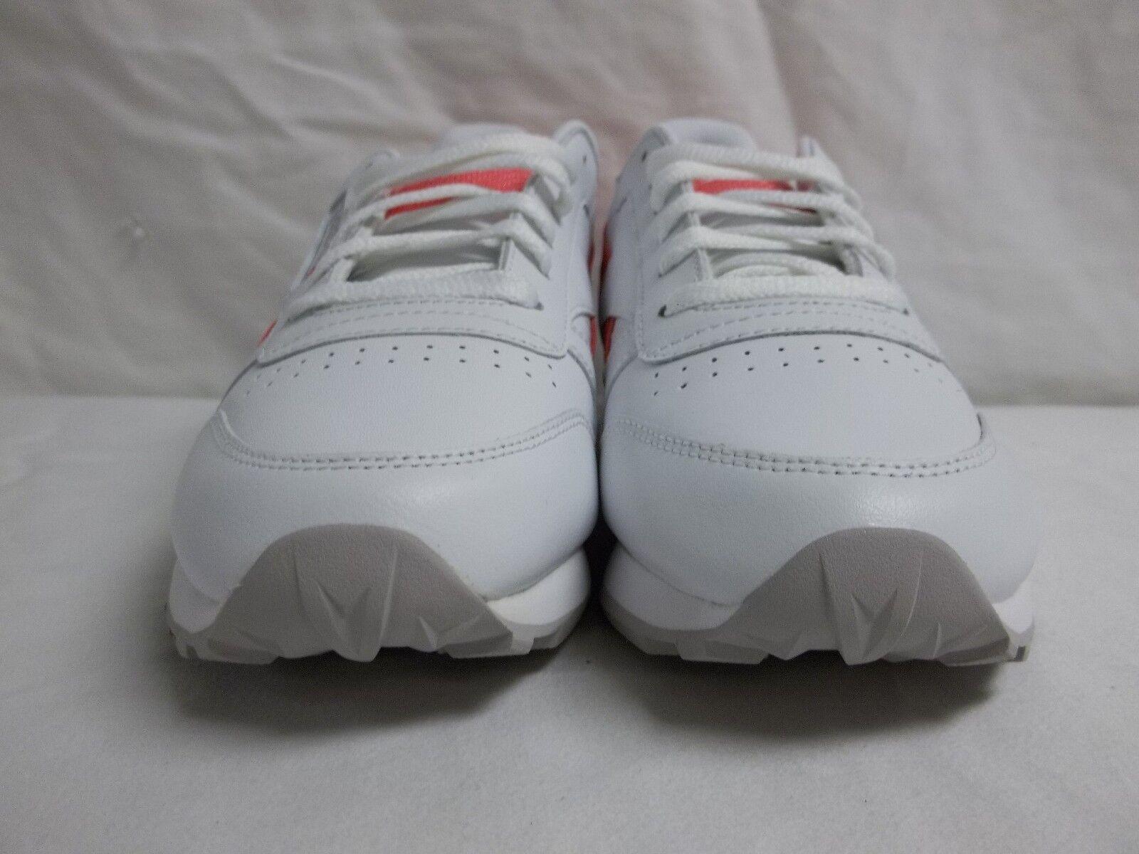 Reebok Größe 5 M Classic Leder Pop WEISS Running Sneakers NEU Damenschuhe Schuhes NWOB