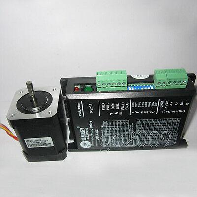 Leadshine 31oz-in 0.22NM Stepper Motor NEMA17 42mm 18~40VDC 2ph 42HS02+DM422C-64