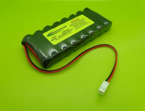 NICAD 1000mA 9.6V TRANSMITTER Tx BATTERY FOR FUTABA T6XA NT8JY / MADE IN USA