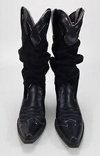 Women's Splash Fashion Cowboy Boots Black 6.5 M