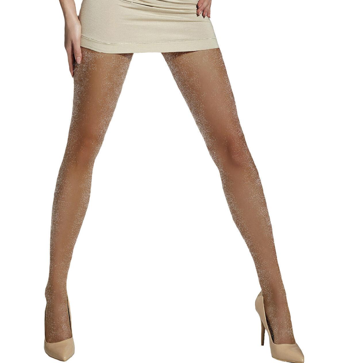Air Hostess Cabin Crew 40 Den Womens Glossy Semi Opaque Tights Pantyhose Paulla