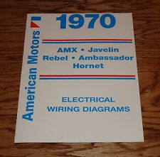amc rebel print 1970 amc wiring diagram manual 70 amx javelin rebel hornet ambassador
