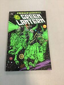 Green-Lantern-Emerald-Knights-Paperback-Tpb-DC-comics-1998-First-Print-OOP