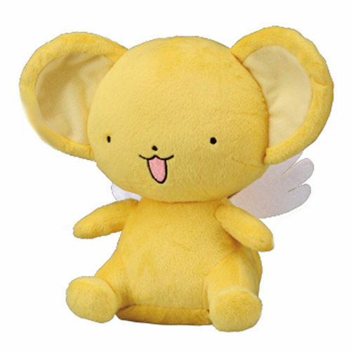 TAKARA TOMY CARDCAPTOR SAKURA TALKING KERO STUFFED SITTING HEIGHT 25CM
