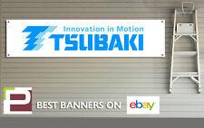 Tsubaki Chain Banner for Workshop, Garage, Yamaha, Ducati, Suzuki, Kawasaki