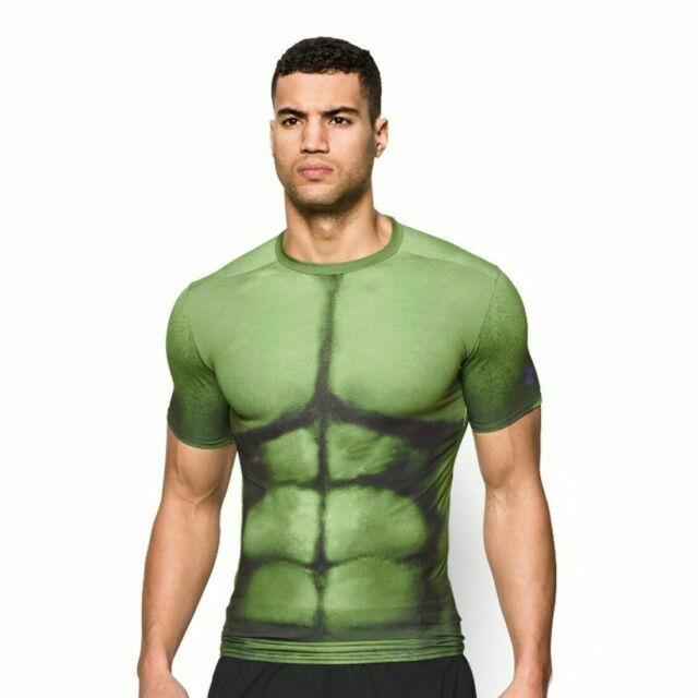 Asistente Agente cantidad de ventas  Under Armour Alter Ego Hulk Men's Compression Shirt Size L 1258691 301 for  sale online | eBay