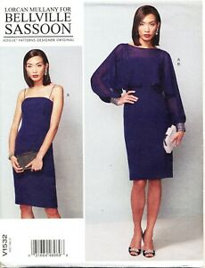 Vogue Sewing Pattern 1532 Misses 6 14 Bellville Sassoon