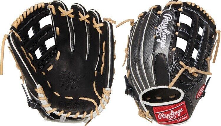 Rawlings PRO3039-6BCF 12.75  Heart of the hide Hyper Shell guante de béisbol Pro H