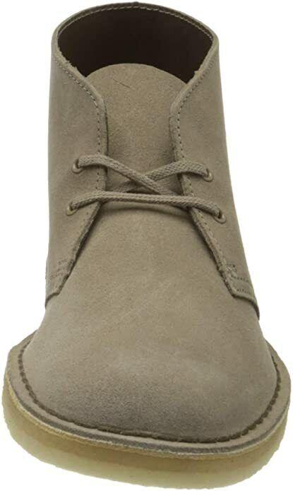 Clarks ORIGINALS Mens Desert Boots Mushroom Suede / Size 9 UK / RRP