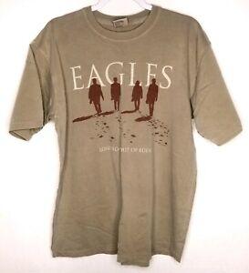 Eagles-Long-Road-Out-Of-Eden-Band-T-Shirt-2009-Vintage-Size-L