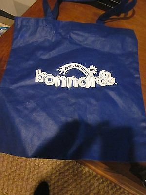 BONNAROO MUSIC & ARTS FESTIVAL 2013 TOTE GROCERY REUSABLE ECO SHOPPING BAG