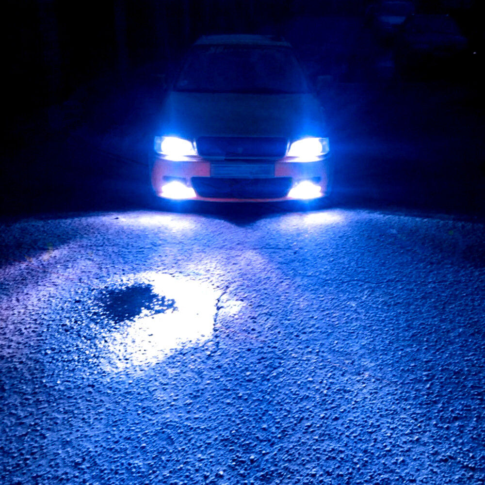 For Dodge Charger 2006 2007 2008 2009 2010 Ice Blue LED Headlight Bulbs 4PC