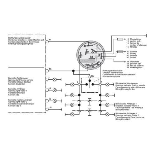 New Holland Schalter Warnblinker 5122659 Hella Warnblinkschalter für Fiat